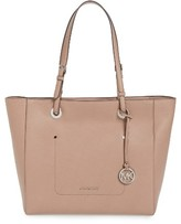 MICHAEL Michael Kors Large Walsh Leather Tote - Beige