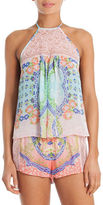 In Bloom Two-Piece Ombre Cami and Shorts Set