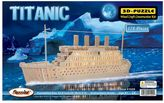 Puzzled Titanic 178-pc. 3D Wooden Puzzle by Puzzled