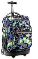 J World JWorld Sundance Laptop Rolling Backpack - Cubes