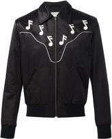 Saint Laurent 'Rock' bomber jacket - men - Cotton/Viscose - 44