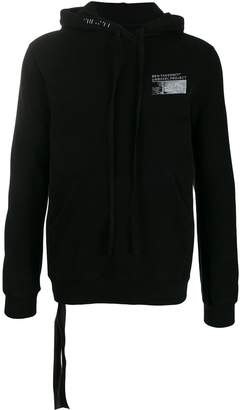 Unravel Project printed logo hoodie