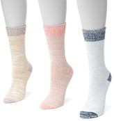 Muk Luks Microfiber Boot Socks - Pack of 3
