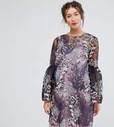 Asos Pretty Enchanted Lace Smock Mini Dress