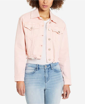 Skinny Girl Cropped Denim Jacket