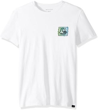 Quiksilver Men's Neon Scratch Ss Tee T-Shirt