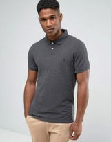 Jack Wills Polo Shirt In Charcoal