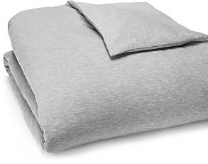 Calvin Klein Modern Cotton Jersey Body Solid Duvet Cover, Full/Queen