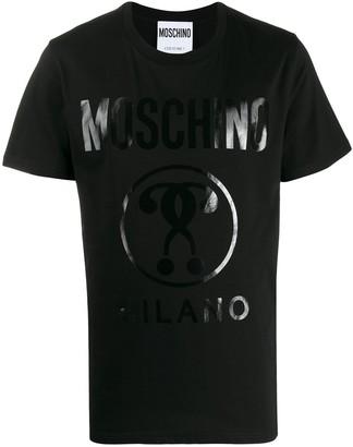 Moschino Milano logo-print T-shirt