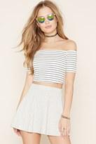 Forever 21 FOREVER 21+ Mini Skater Skirt