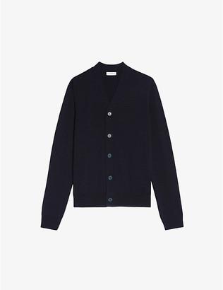 Sandro V-neck wool cardigan