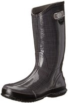 Bogs Women's Linen Rain Boot, Purple, 11 M US