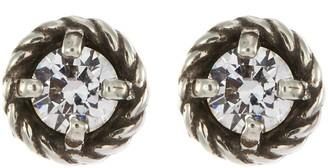 Philippe Audibert 'Susie' bezel set Swarovski crystal stud earrings