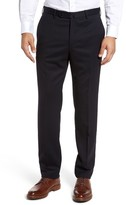 Incotex Men's Benson Flat Front Wool Blend Trousers