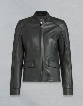 Belstaff Fairing Leather Motorcycle Jacket
