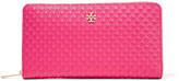 Tory Burch Marion embossed quilted leather wallet
