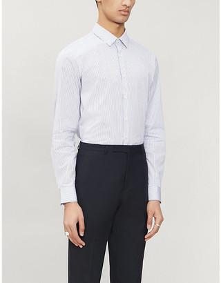 Sandro Striped classic-fit cotton shirt