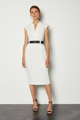 Karen Millen Forever Cap Sleeve Dress