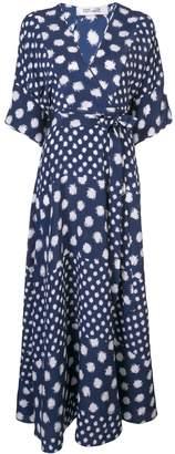 Diane von Furstenberg polka-dot maxi dress