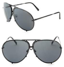 Porsche Design P'8478 69MM Interchangeable Aviator Sunglasses