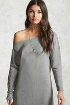 Forever 21 Off-the-Shoulder Sweater Dress