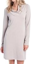 Lole Calm Shawl Collar Dress - Long Sleeve (For Women)