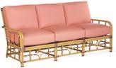 Lane Venture Celerie Kemble For Mimi Sofa - Coral Sunbrella - frame, natural; upholstery, coral