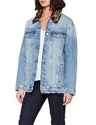 S'Oliver Q/S designed by Women's 41.809.51.4989 Jacket, (Blue 55Z6)