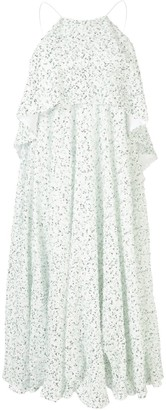 Halpern Embellished Midi Dress