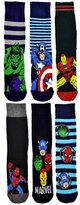 Marvel Men's Official 6 Pair of Character Socks - FAST POST (5-10 working days)