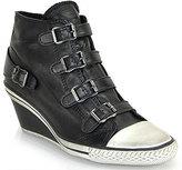Ash Genial - Leather Mid-Wedge Sneaker