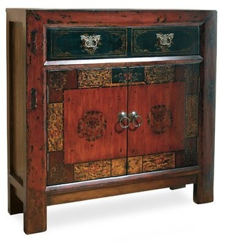 Hooker Furniture Asian 2 Door/1 Drawer Hall Accent Cabinet