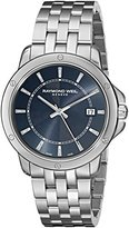 Raymond Weil Men's 5591-ST-50001 Tango Analog Display Swiss Quartz Silver-Tone Watch