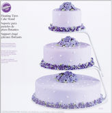 JCPenney Wilton Brands Floating Tiers Cake Stand