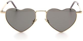 Saint Laurent Eyewear Heart Shaped Sunglasses