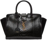 Saint Laurent Black Baby Downtown Cabas Tote
