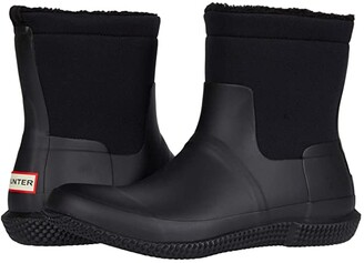 Hunter Sherpa Boots (Black) Men's Boots