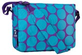 Household Essentials Wildkin Big Dot Kickstart Messenger Bag - Aqua