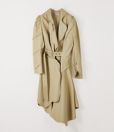 Vivienne Westwood TRAMP TRENCH COAT KHAKI