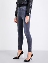 Good American Good Legs skinny high-rise cropped jeans