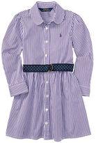 Ralph Lauren Girls 2-6x Bold Bengal Striped Dress