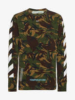 Off-White camouflage long sleeve t shirt