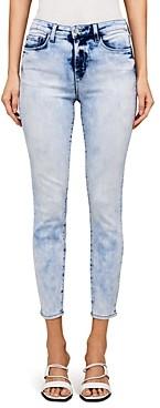 L'Agence Margot High Rise Skinny Jeans in Celestial