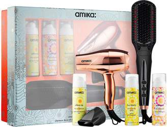 Amika Polished Perfection Straightening Brush 2.0 Smooth Operator Set