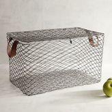 Pier 1 Imports Kasey Lidded Iron Large Basket