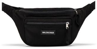 Balenciaga Explorer Belt Pack in Black   FWRD