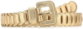 Prada Link Buckle Belt
