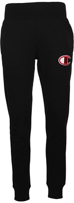 Champion Reverse Weave(r) Jogger - Big C (Black) Women's Casual Pants