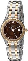 Tissot Women's T0720102229800 Lady Analog Display Swiss Quartz Two Tone Watch