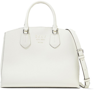 DKNY Noho Large Pebbled-leather Tote